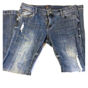 Kut from the Kloth Distressed jeans 10 P